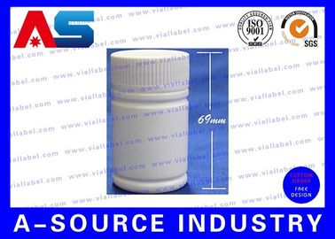 Medicine 50ml Plastic Pill Bottles 69mm Tall 38mm Wide Plastic Pill Containers